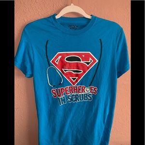 Superhero's in Scrubs Tee Shirt